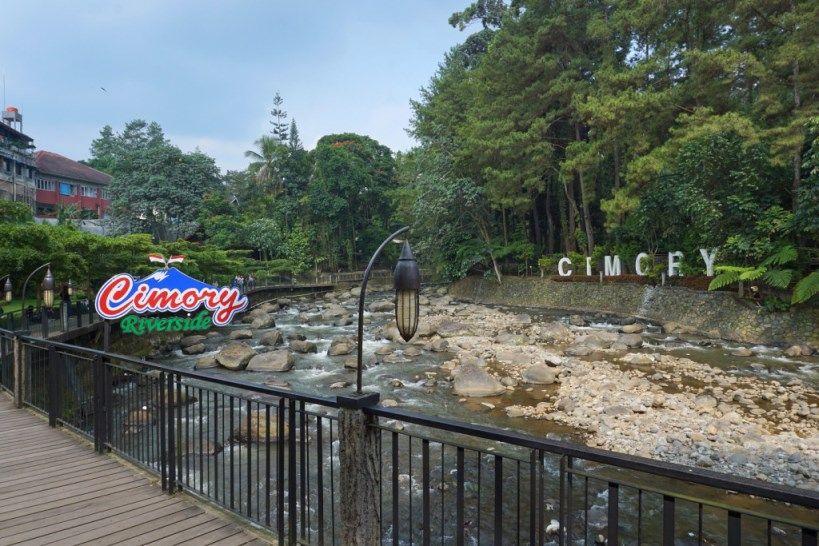 Cimory Riverside - tempat wisata bogor