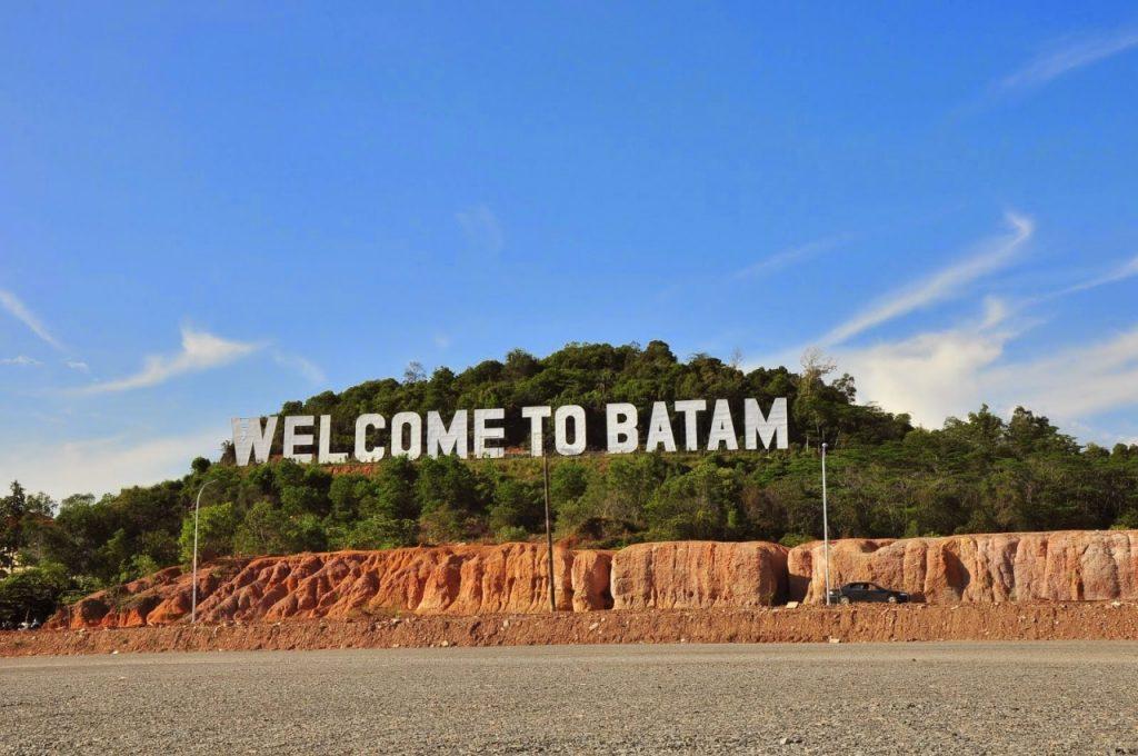 Ikon Welcome to Batam