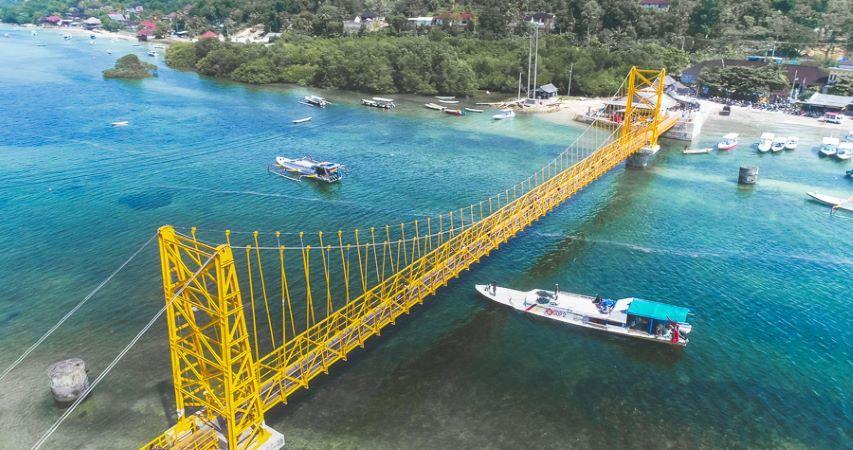 Yellow Bridge, Nusa Ceningan