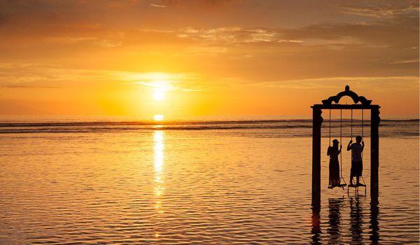 Sunset di Pantai Gili Trawangan