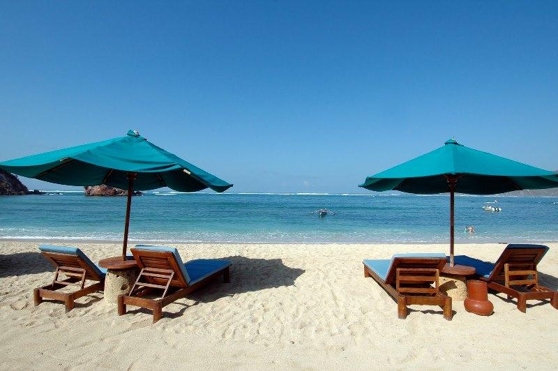 Pantai Kuta di Lombok