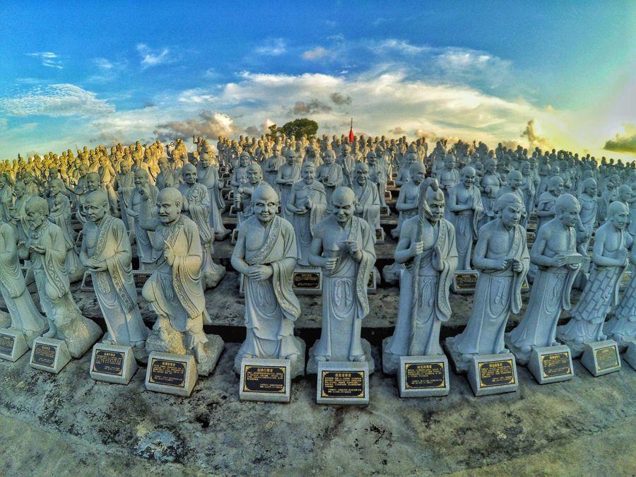 Patung 500 Lohan