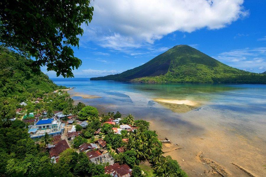 Pulau Gunung Api, Kepulauan Banda Niera
