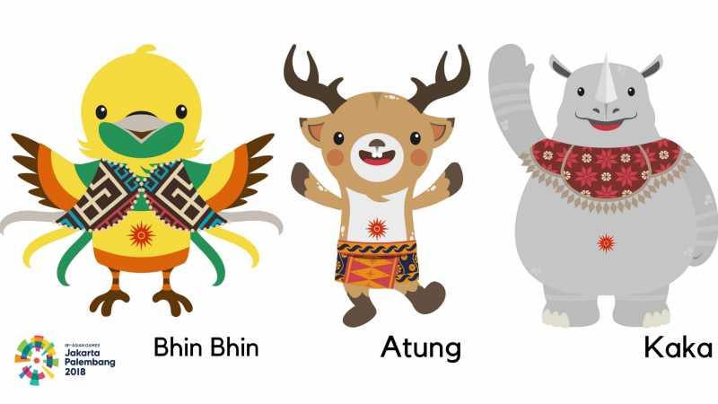 Maskot Asian Games